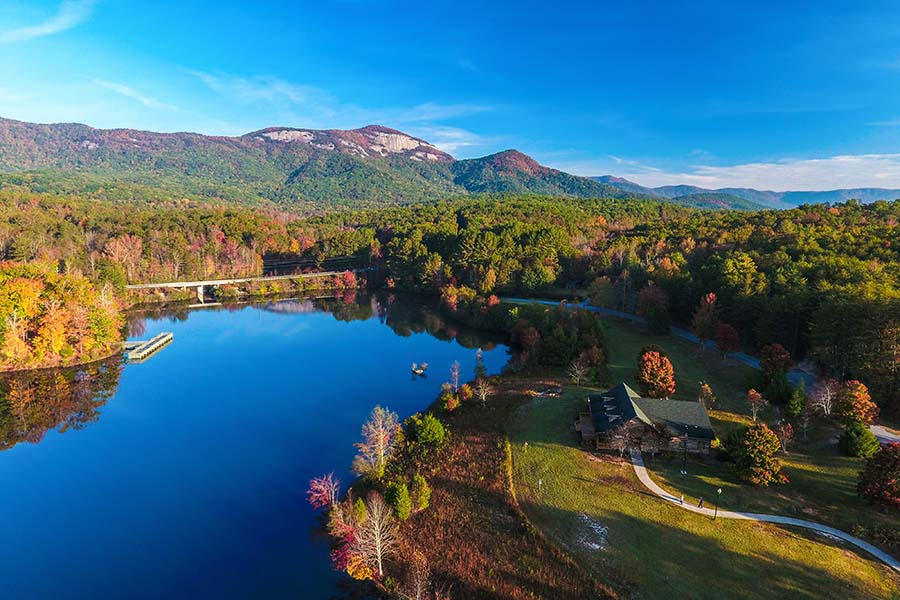 Contact - View of Upstate South Carolina River Mountains and Forests